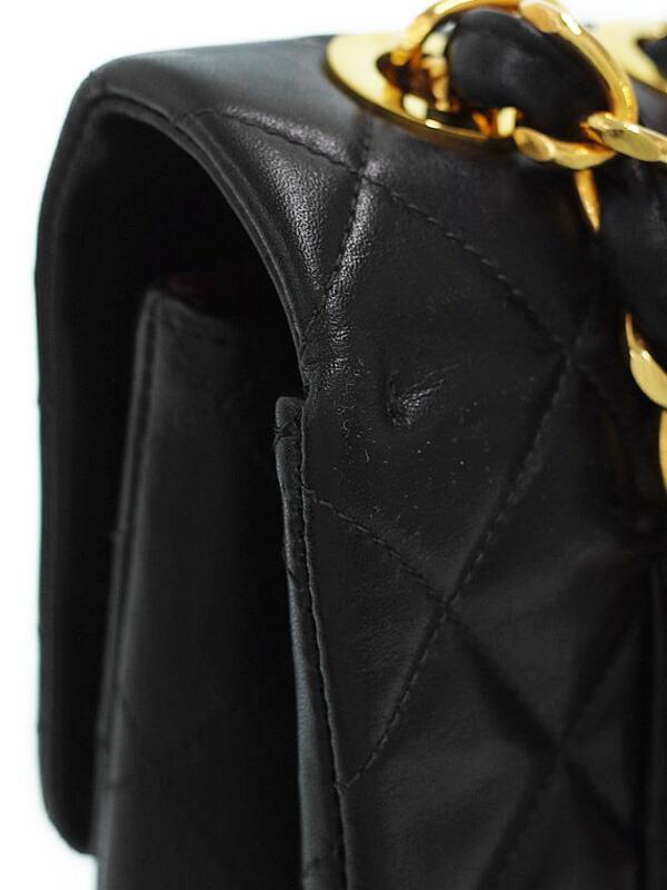 【CHANEL】【ゴールド金具】シャネル『デカマトラッセ チェーンショルダーバッグ』レディース 1週間保証【中古】