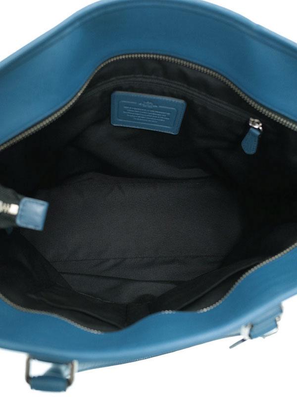 【COACH】コーチ『スムーズレザー ビジネストート』F71843 メンズ 2WAYバッグ 1週間保証【中古】