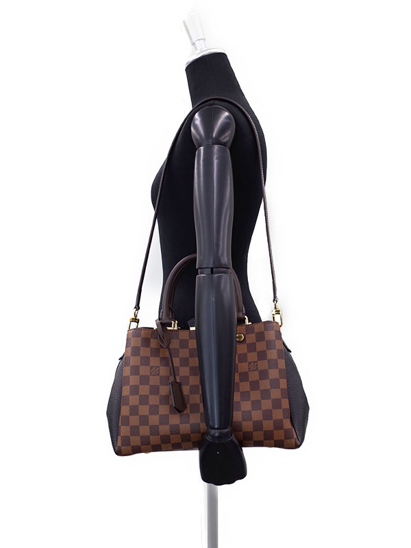 【LOUIS VUITTON】ルイヴィトン『ダミエ ブリタニー』N41673 レディース 2WAYバッグ 1週間保証【中古】
