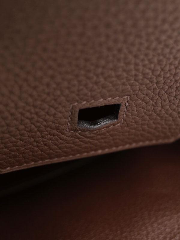【HERMES】【シルバー金具】エルメス『バーキン30』R刻印 2014年製 レディース ハンドバッグ 1週間保証【中古】