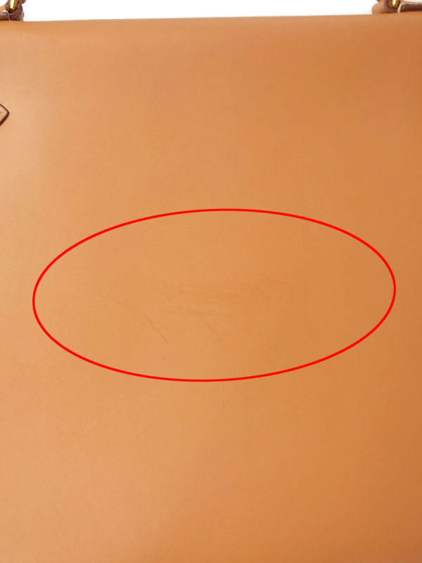 【HERMES】【ゴールド金具】エルメス『ケリー32 外縫い』U刻印 1991年製 レディース 2WAYバッグ 1週間保証【中古】