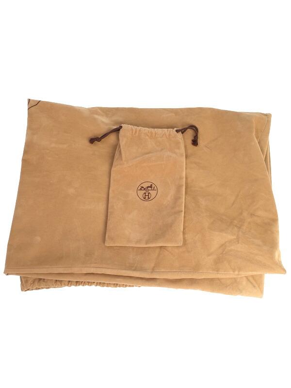 【HERMES】【ゴールド金具】エルメス『オータクロア 55』B刻印 1998年製 メンズ レディース ボストンバッグ 1週間保証【中古】