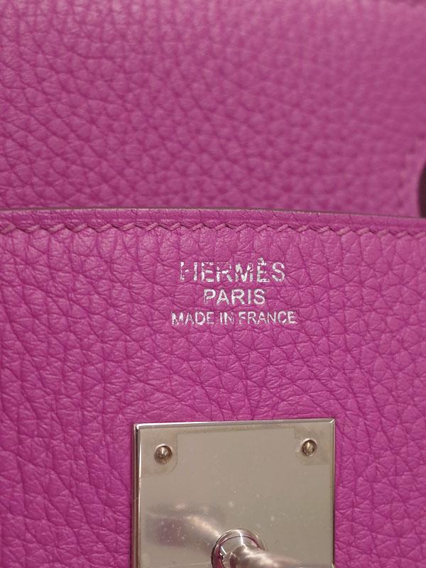 【HERMES】【シルバー金具】エルメス『バーキン30』H030335CK-9I C刻印 2018年製 レディース ハンドバッグ 1週間保証【中古】