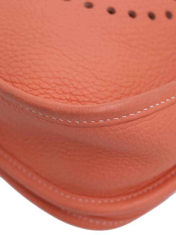【HERMES】【シルバー金具】エルメス『エヴリン3PM』Q刻印 2013年製 レディース ショルダーバッグ 1週間保証【中古】