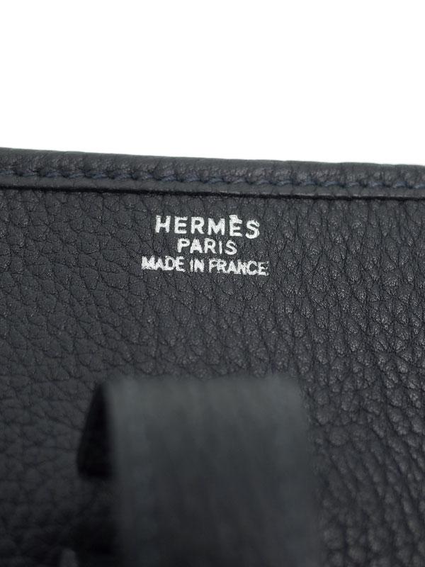 【HERMES】【シルバー金具】エルメス『エヴリンGM』P刻印 2012年 レディース ショルダーバッグ 1週間保証【中古】