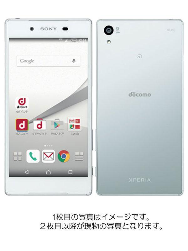 【SONY】【エクスペリア】【ドコモのみ】ソニー『Xperia Z5 32GB docomo ホワイト』SO-01H 2015年10月発売 スマートフォン 1週間保証【中古】