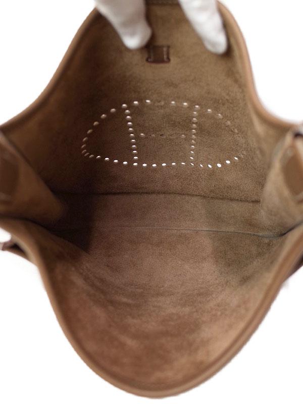 【HERMES】【シルバー金具】エルメス『エヴリン3PM』A刻印 2017年製 レディース ショルダーバッグ 1週間保証【中古】