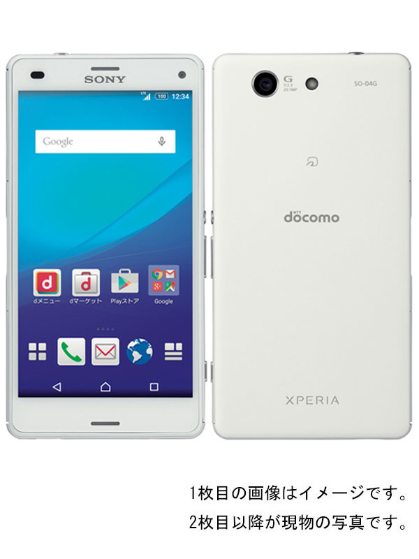 【SONY】【エクスペリア】【ドコモのみ】ソニー『Xperia A4 16GB docomo ホワイト』SO-04G 2015年6月発売 スマートフォン 1週間保証【中古】