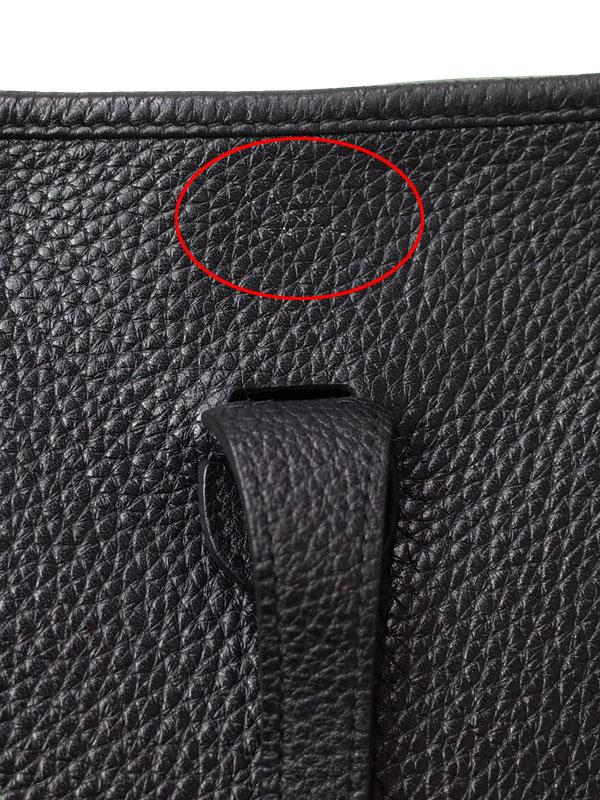 【HERMES】【シルバー金具】エルメス『エヴリン3PM』P刻印 2012年製 レディース ショルダーバッグ 1週間保証【中古】