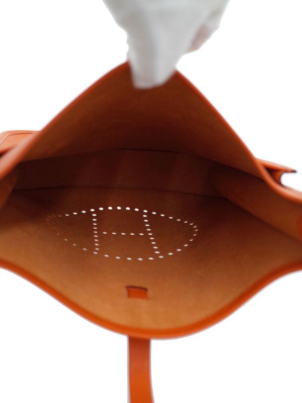 【HERMES】【シルバー金具】エルメス『エヴリン2PM』043773CK-93 K刻印 2007年 レディース ショルダーバッグ 1週間保証【中古】