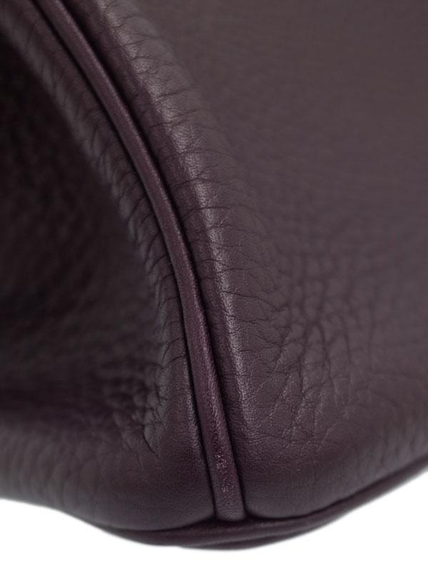 【HERMES】【シルバー金具】エルメス『バーキン30』030335CK-59 R刻印 2014年製 レディース ハンドバッグ 1週間保証【中古】