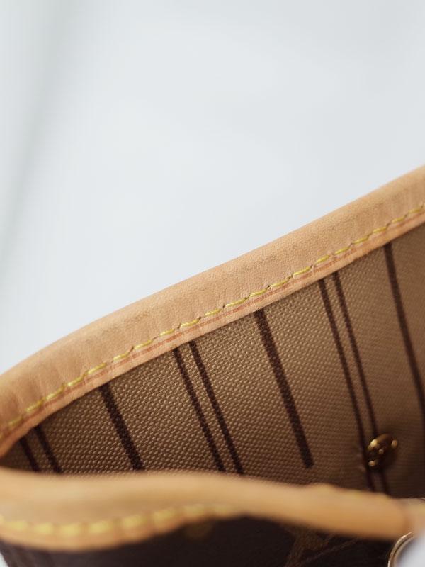 【LOUIS VUITTON】ルイヴィトン『モノグラム ネヴァーフルMM』M40156 レディース トートバッグ 1週間保証【中古】