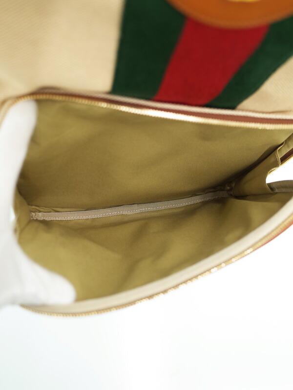 【GUCCI】グッチ『ヴィンテージキャンバス バックパック』575063 メンズ 1週間保証【中古】