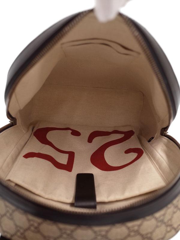 【GUCCI】グッチ『GGスプリーム アングリーキャット バックパック』419584 メンズ 1週間保証【中古】