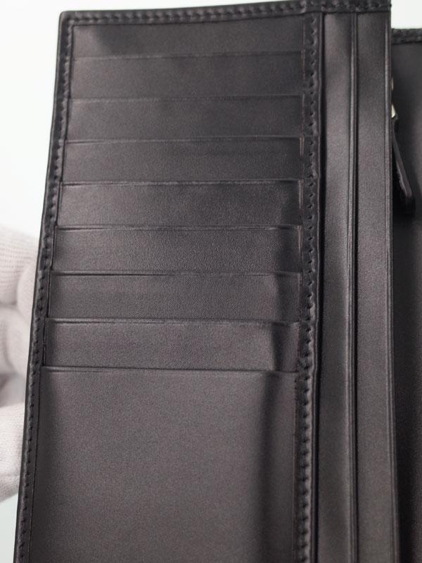 【BVLGARI】ブルガリ『ブルガリブルガリ マン 二つ折り長財布』メンズ 1週間保証【中古】