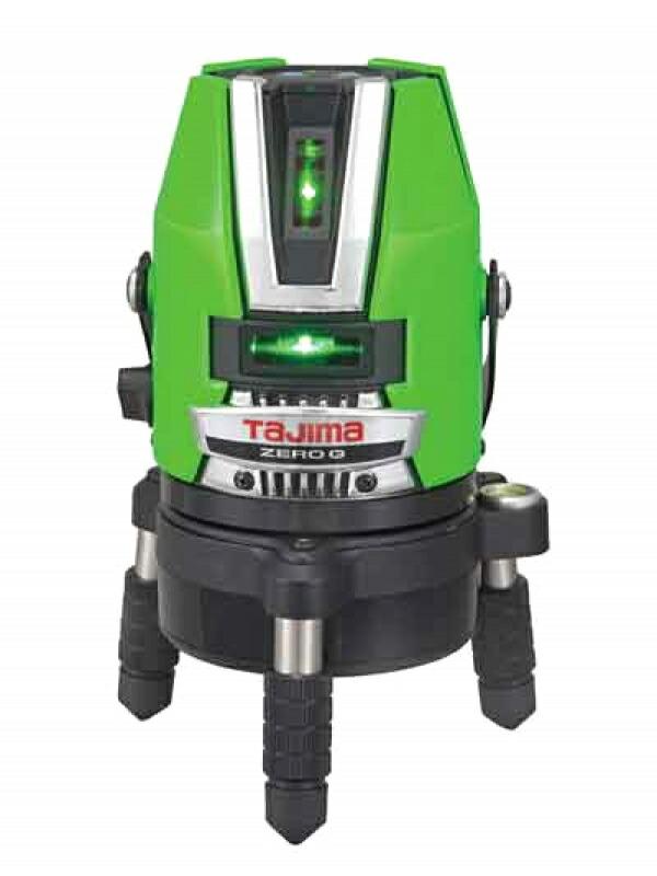 【TAJIMA】タジマ『グリーンレーザー墨出し器』ZEROGN-KJY 受光器付 NAVI機能付 1週間保証【新品】