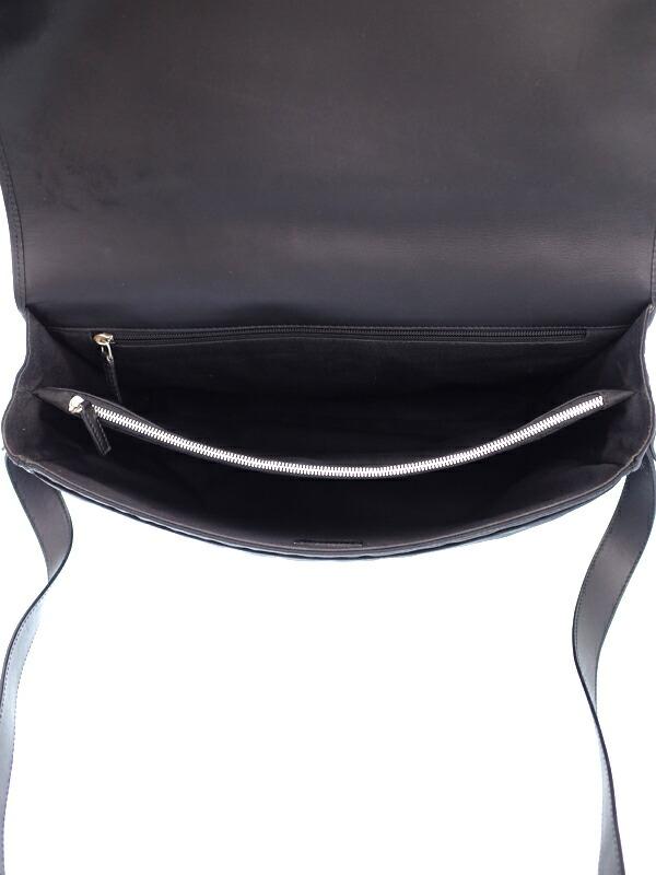 【Salvatore Ferragamo】フェラガモ『ガンチーニ メッセンジャーバッグ』FB-24 4019 メンズ ショルダーバッグ 1週間保証【中古】