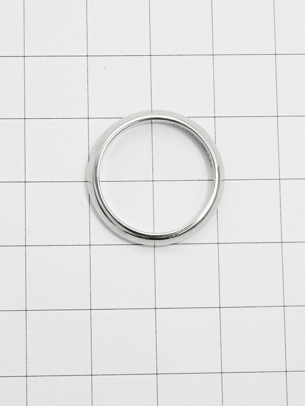 【CELINE】【仕上済】セリーヌ『PT900 サイド ロゴ スター デザイン リング ルビー』15号 1週間保証【中古】