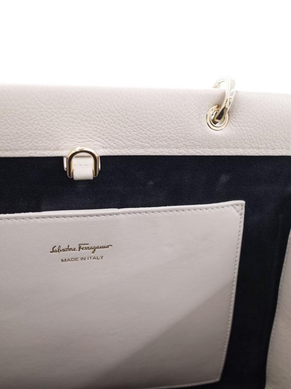 【Salvatore Ferragamo】フェラガモ『ガンチーニ 2WAYトートバッグ』EE-21 H110 レディース 2WAYバッグ 1週間保証【中古】
