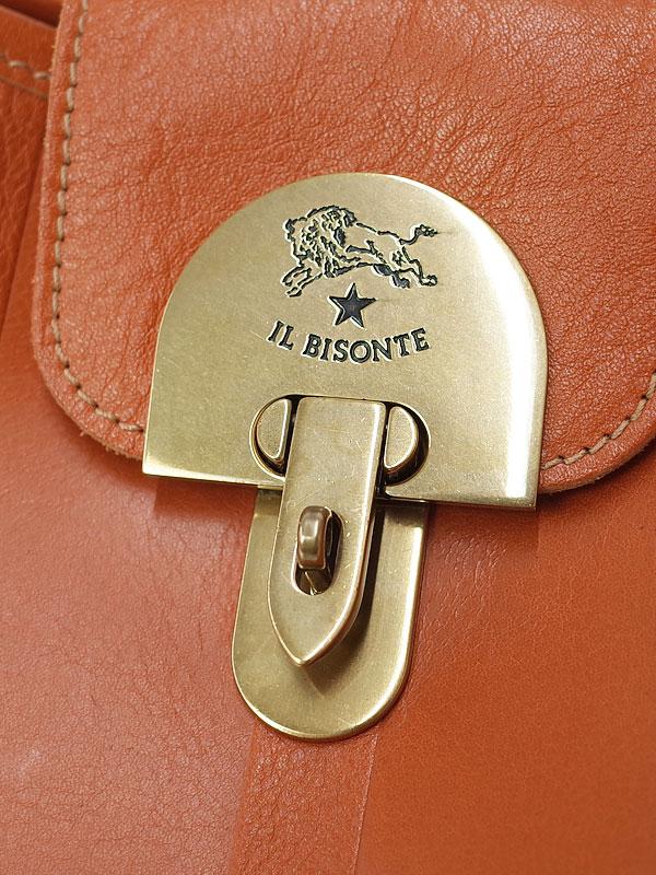 【IL BISONTE】イルビゾンテ『ショルダーバッグ』レディース 1週間保証【中古】
