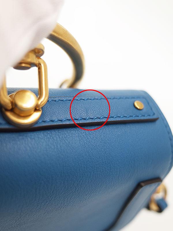 【Chloe】クロエ『ナイル スモール ブレスレットバッグ』レディース 2WAYバッグ 1週間保証【中古】