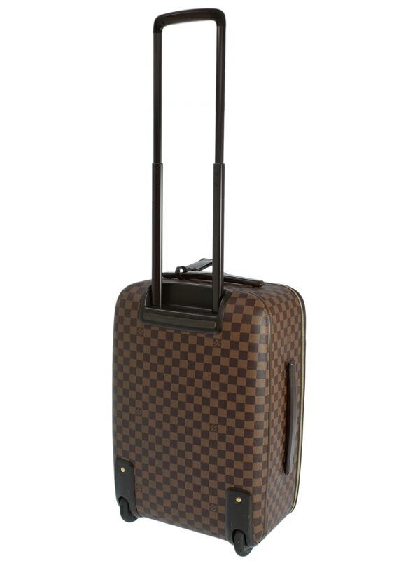 【LOUIS VUITTON】【旅行】【トラベル】ルイヴィトン『ダミエ ペガス レジェール55』N41386 メンズ レディース キャリーケース 1週間保証【中古】