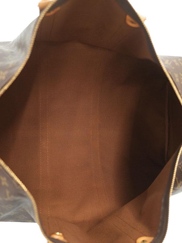 【LOUIS VUITTON】【旅行】【トラベル】ルイヴィトン『モノグラム キーポル55』M41424 ユニセックス ボストンバッグ 1週間保証【中古】