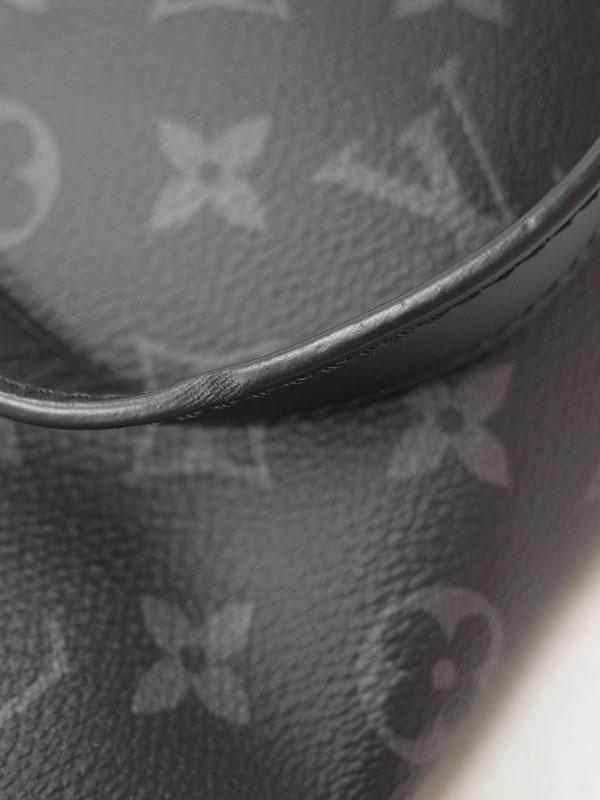 【LOUIS VUITTON】ルイヴィトン『モノグラム エクリプス ポルト アビ1』M43686 メンズ ガーメントバッグ 1週間保証【中古】