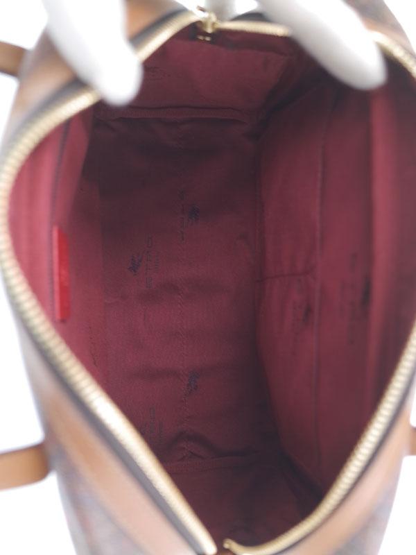 【ETRO】エトロ『バンビ&フラワープリント 2WAYハンドバッグ』レディース 2WAYバッグ 1週間保証【中古】