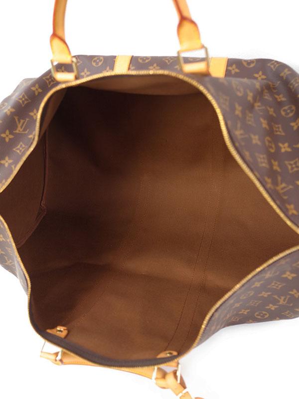 【LOUIS VUITTON】【旅行】【トラベル】ルイヴィトン『モノグラム キーポル60』M41422 ユニセックス ボストンバッグ 1週間保証【中古】