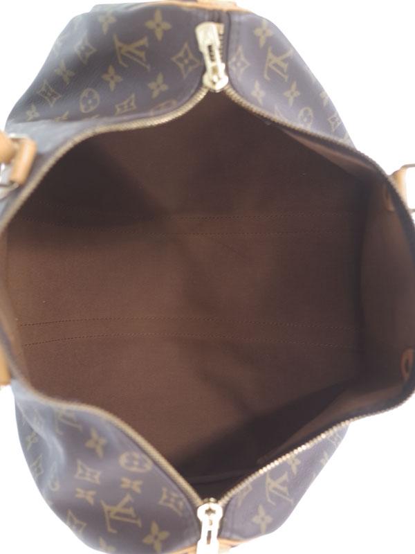 【LOUIS VUITTON】【旅行】【トラベル】ルイヴィトン『モノグラム キーポル45』M41428 ユニセックス ボストンバッグ 1週間保証【中古】