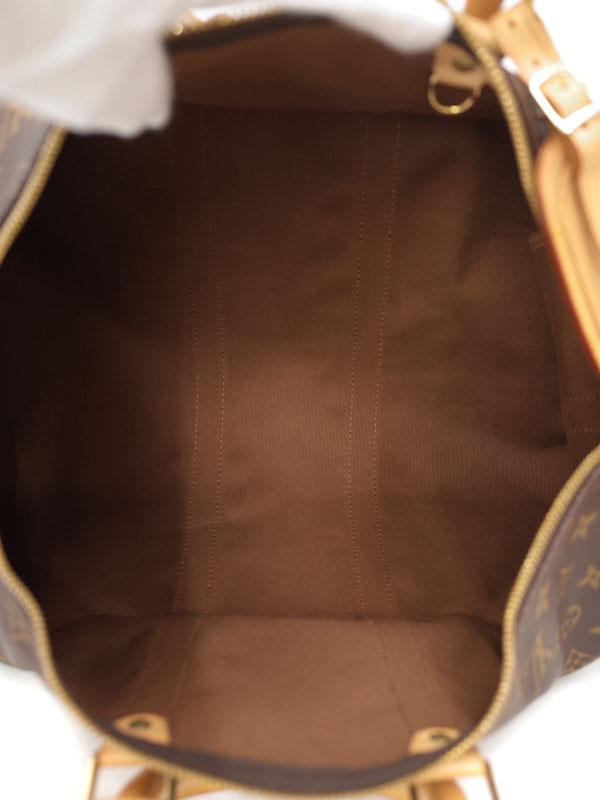 【LOUIS VUITTON】【旅行用ボストンバッグ】ルイヴィトン『モノグラム キーポル バンドリエール45』M41418 ユニセックス 2WAYバッグ 1週間保証【中古】