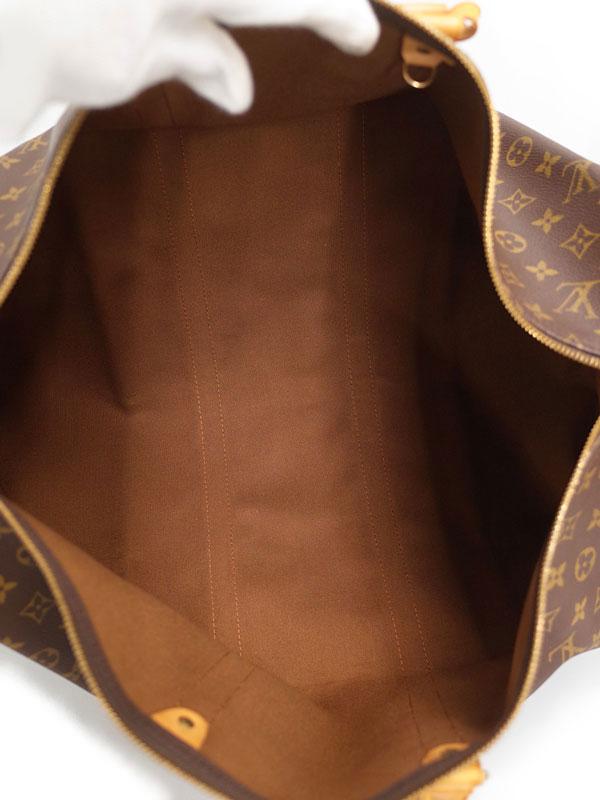 【LOUIS VUITTON】【旅行】【トラベル】ルイヴィトン『モノグラム キーポル55』M41424 メンズ・レディース ボストンバッグ 1週間保証【中古】