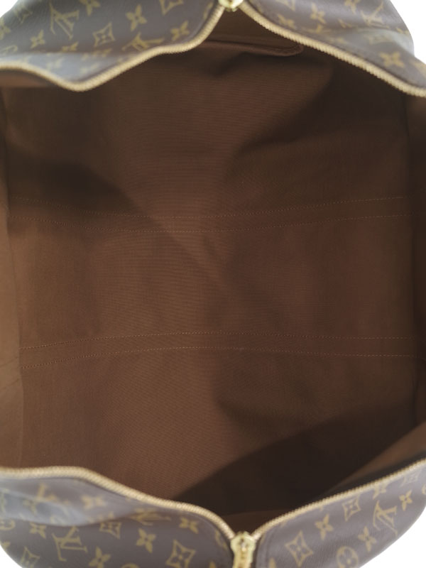 【LOUIS VUITTON】【旅行】【トラベル】ルイヴィトン『モノグラム キーポル バンドリエール60』M41412 ユニセックス ボストンバッグ 1週間保証【中古】
