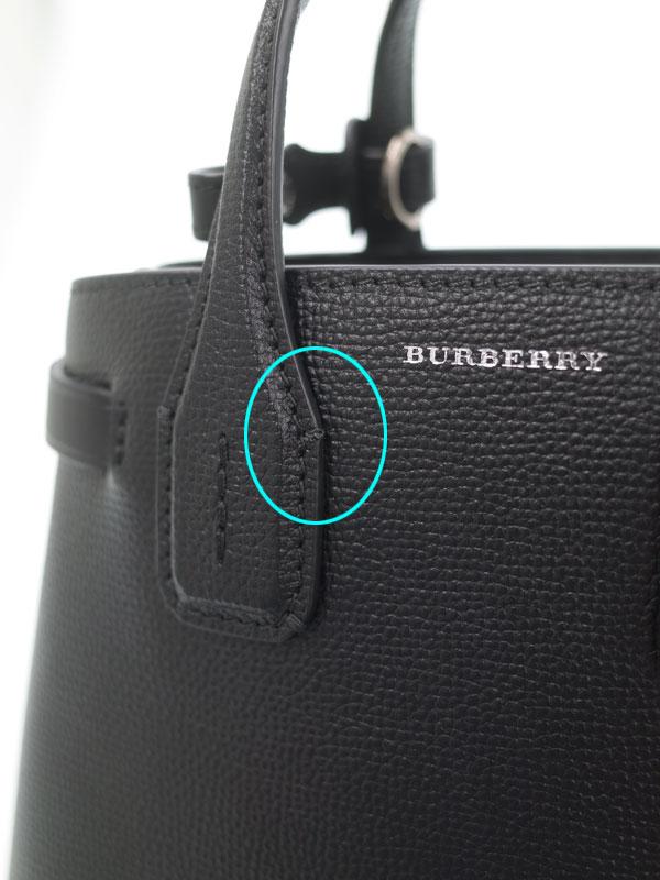 【BURBERRY】【BABY BANNER】バーバリー『ベビー バナー 2WAYハンドバッグ』4078477 レディース 2WAYバッグ 1週間保証【中古】