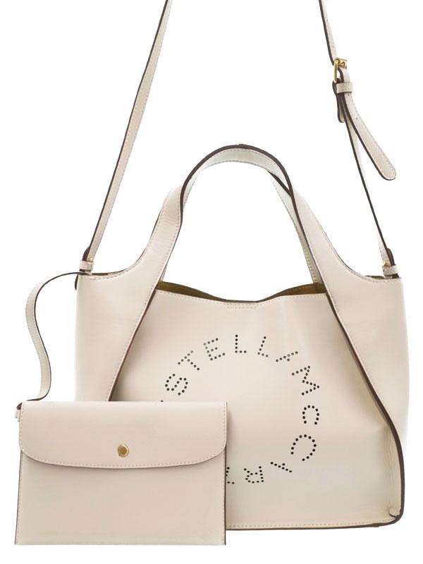 【STELLA McCARTNEY】ステラマッカートニー『ステラ ロゴ クロスボディバッグ』513860 レディース 2WAYバッグ 1週間保証【中古】