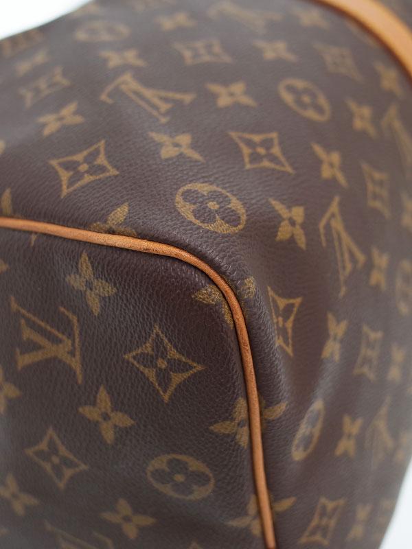 【LOUIS VUITTON】【旅行】【トラベル】ルイヴィトン『モノグラム キーポル50』M41426 ユニセックス ボストンバッグ 1週間保証【中古】