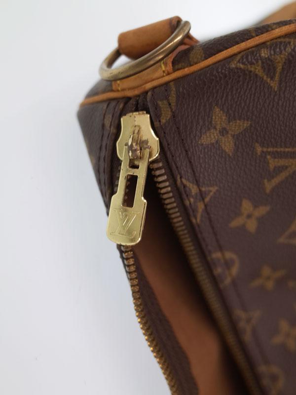【LOUIS VUITTON】【旅行】【トラベル】ルイヴィトン『モノグラム キーポル バンドリエール55』M41414 ユニセックス ボストンバッグ 1週間保証【中古】