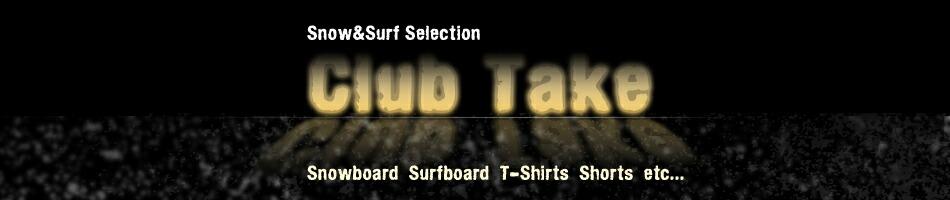 [Surf Snow Selection Club Take]★スノーボード/T-シャツ/サーフパンツ★