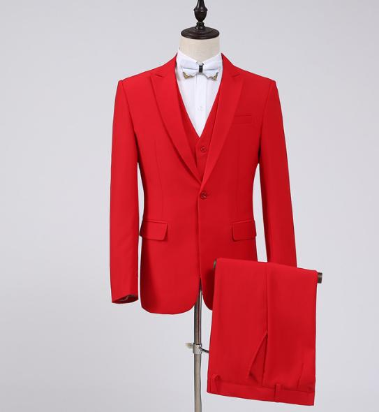 8234a67b6c799 メンズファッション 紳士スーツセット メンズスーツ 3点セット スリムスーツビジネススーツ セットアップ フォーマルスーツ リクルートスーツ結婚式  長袖 忘年会司会者 ...