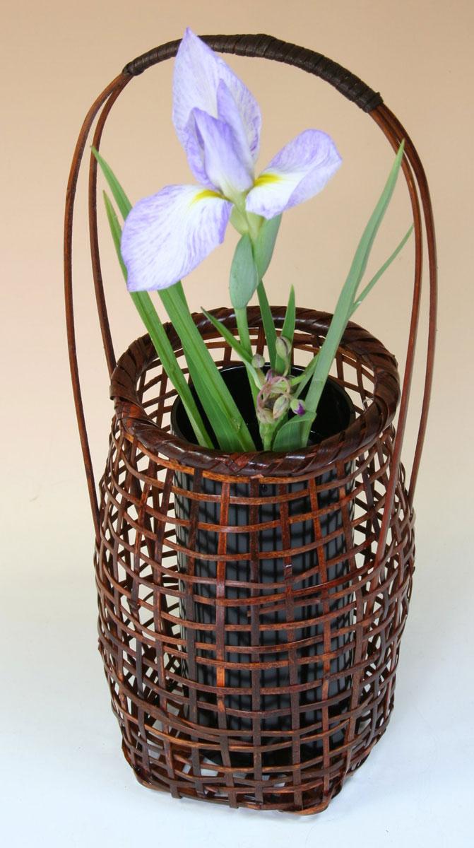 Bamboo Shop Takei The Bamboo Basket Vase Figurehead Flower Vase Accessory Miscellaneous Goods