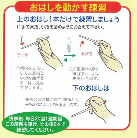 お箸(はし)動かす練習