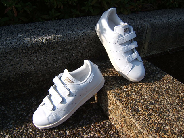 Japan Limited Edition adidas adidas originals sneakers STAN SMITH CF TF Stan comfort white white gold (AQ5357 FW15)