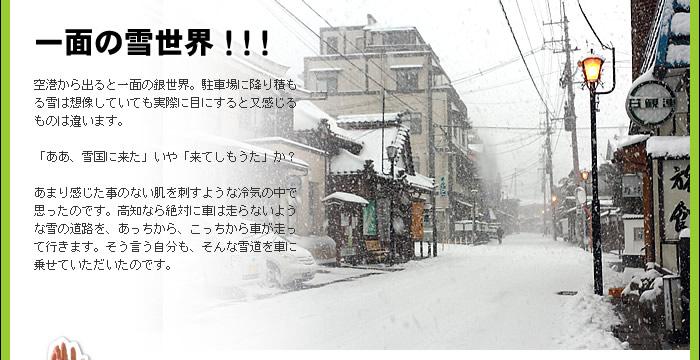 一面の雪世界!!!
