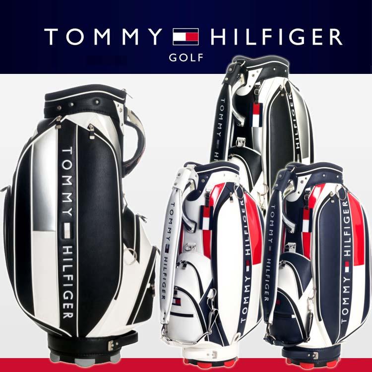 トミーヒルフィガー ゴルフ<br>フェイス キャディバッグ カートバッグ<br>THMG7SC1 TOMMY HILFIGER GOLF