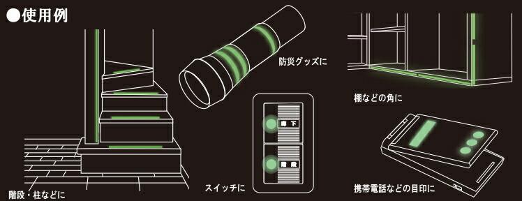 テープ使用例