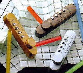 暗証番号ボタン式補助錠(鍵)キーレスキーレックス錠両面ボタンタイプイメージ