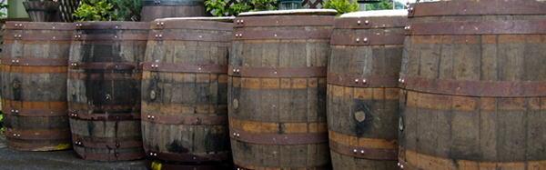 ウイスキー樽・木製