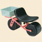 移動用作業椅子