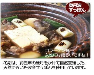 丹波ひさごのすっぽん鍋